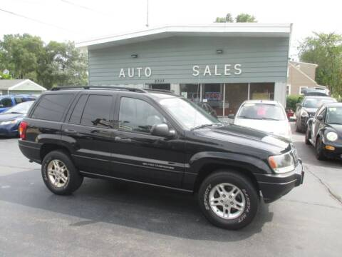2002 Jeep Grand Cherokee for sale at SHEFFIELD MOTORS INC in Kenosha WI