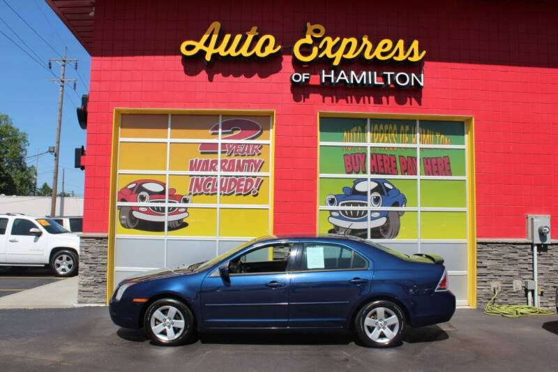 2007 Ford Fusion for sale at AUTO EXPRESS OF HAMILTON LLC in Hamilton OH