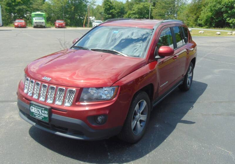 2014 Jeep Compass for sale at Greg's Auto Sales in Searsport ME
