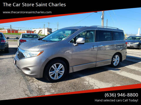2012 Nissan Quest for sale at The Car Store Saint Charles in Saint Charles MO
