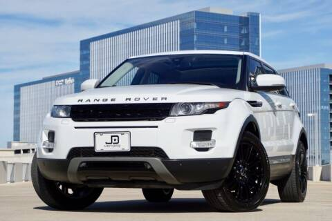 2012 Land Rover Range Rover Evoque for sale at JD MOTORS in Austin TX