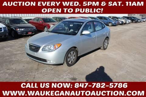 2008 Hyundai Elantra for sale at Waukegan Auto Auction in Waukegan IL