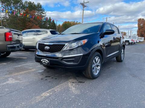 2016 Kia Sportage for sale at Affordable Auto Sales in Webster WI