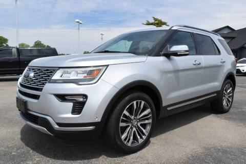 2018 Ford Explorer for sale at Heritage Automotive Sales in Columbus in Columbus IN