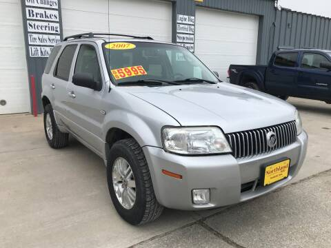 2007 Mercury Mariner for sale at Northland Auto in Humboldt IA