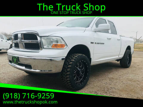 2011 RAM Ram Pickup 1500 for sale at The Truck Shop in Okemah OK