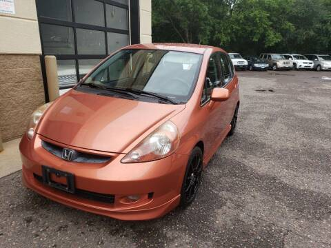 2008 Honda Fit for sale at Fleet Automotive LLC in Maplewood MN
