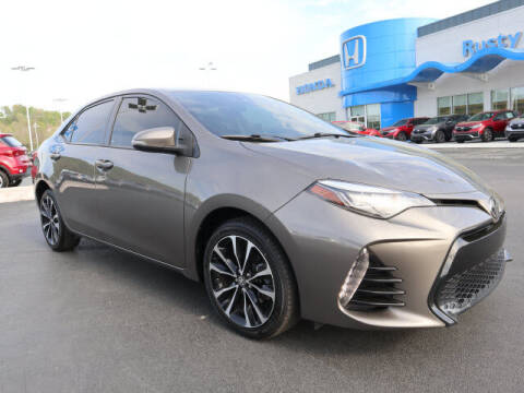 2017 Toyota Corolla for sale at RUSTY WALLACE HONDA in Knoxville TN