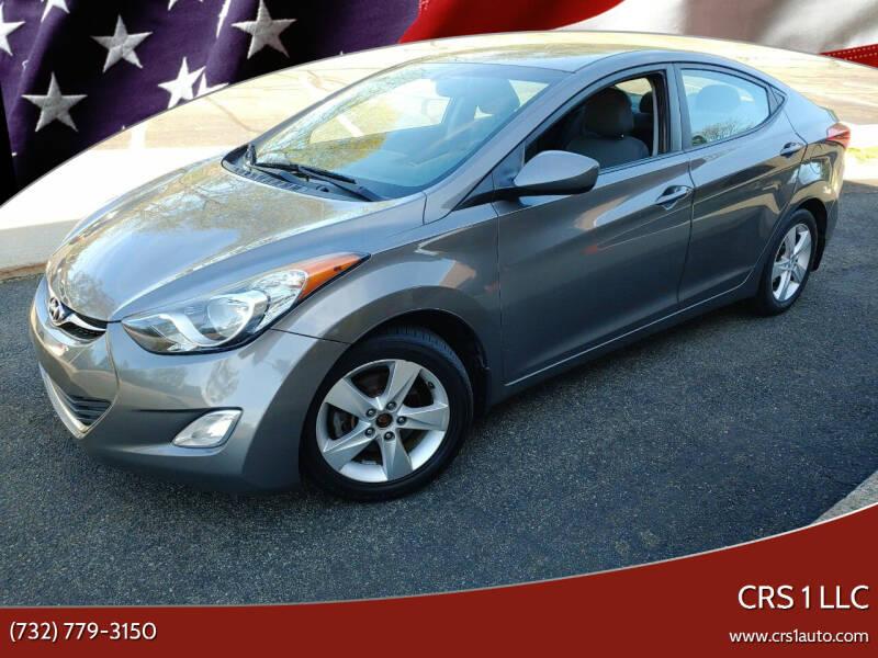 2013 Hyundai Elantra for sale at CRS 1 LLC in Lakewood NJ