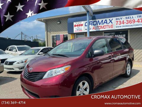 2011 Toyota Sienna for sale at Cromax Automotive in Ann Arbor MI