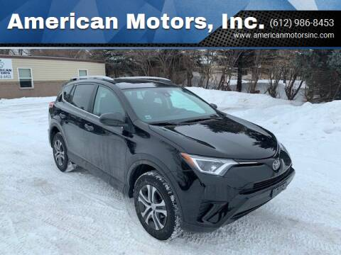 2017 Toyota RAV4 for sale at American Motors, Inc. in Farmington MN