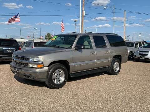 2002 Chevrolet Suburban for sale at Chaparral Motors in Lubbock TX