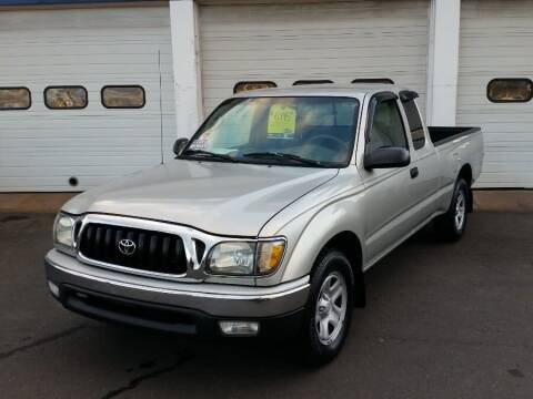 2004 Toyota Tacoma for sale at Action Automotive Inc in Berlin CT