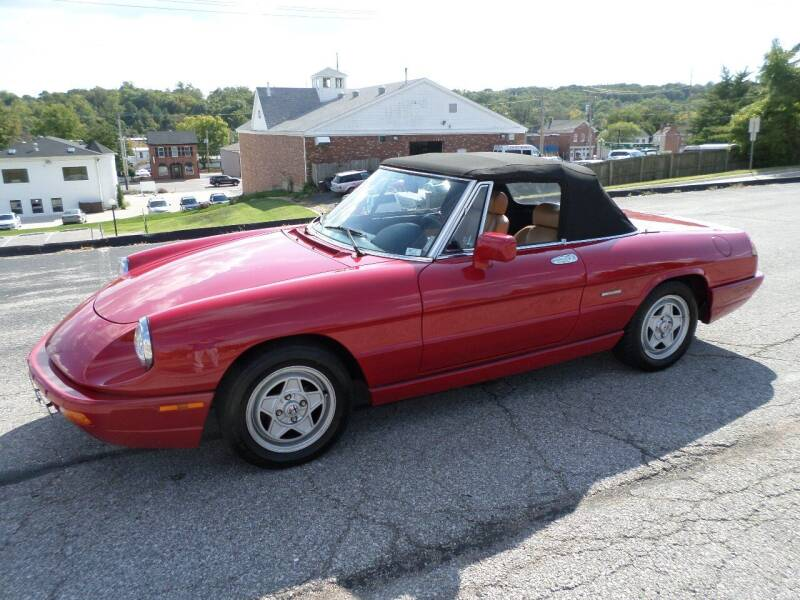 1991 Alfa Romeo Spider for sale at AUTOS OF EUROPE in Manchester MO