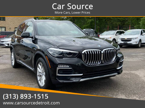 2020 BMW X5 for sale at Car Source in Detroit MI