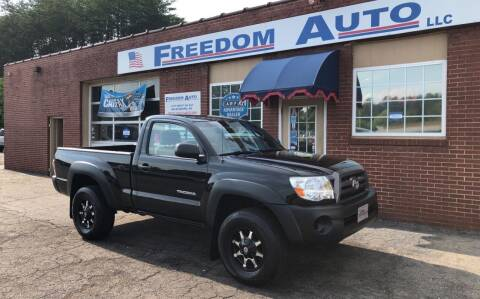2009 Toyota Tacoma for sale at FREEDOM AUTO LLC in Wilkesboro NC