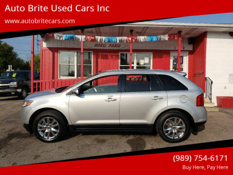 2013 Ford Edge for sale at Auto Brite Used Cars Inc in Saginaw MI