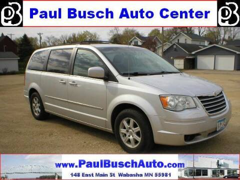2010 Chrysler Town and Country for sale at Paul Busch Auto Center Inc in Wabasha MN