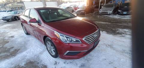 2016 Hyundai Sonata for sale at Divine Auto Sales LLC in Omaha NE
