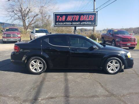 2012 Dodge Avenger for sale at T & G Auto Sales in Florence AL