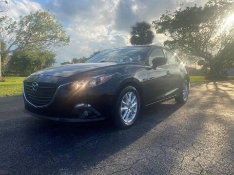 2015 Mazda MAZDA3 for sale at Lamberti Auto Collection in Plantation FL