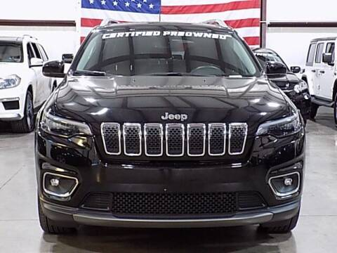 2019 Jeep Cherokee for sale at Texas Motor Sport in Houston TX