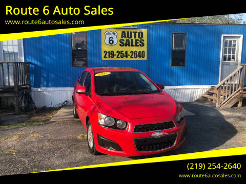 2012 Chevrolet Sonic for sale at Route 6 Auto Sales in Portage IN