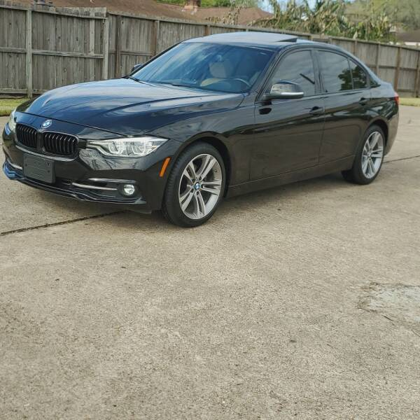 2016 BMW 3 Series for sale at MOTORSPORTS IMPORTS in Houston TX