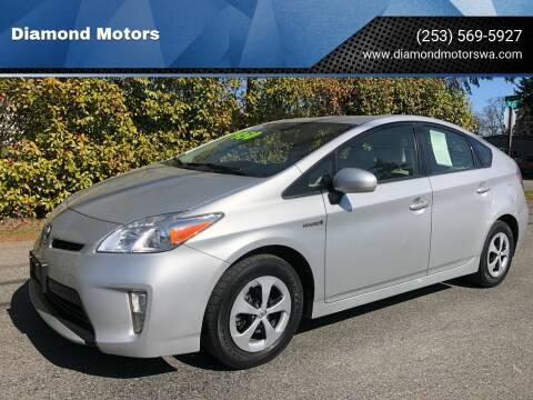 2013 Toyota Prius for sale at Diamond Motors in Lakewood WA
