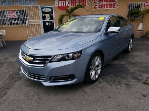 2014 Chevrolet Impala for sale at VALDO AUTO SALES in Miami FL