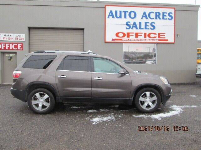 2011 GMC Acadia for sale at Auto Acres in Billings MT