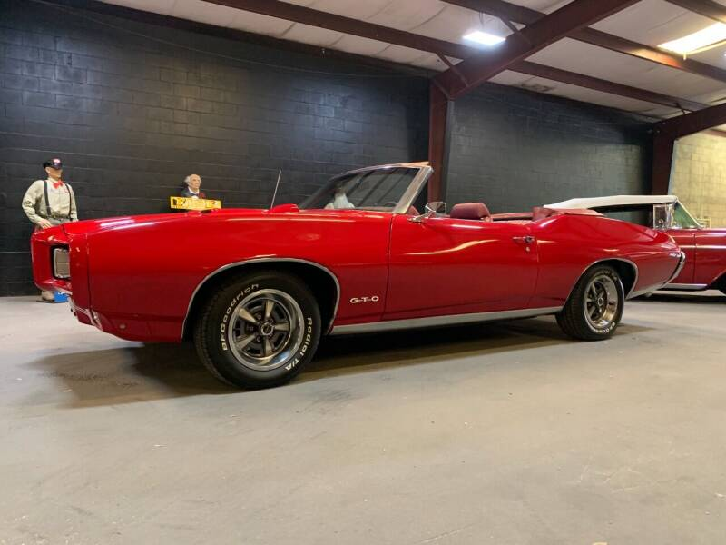 1969 Pontiac GTO for sale at American Classic Car Sales in Sarasota FL