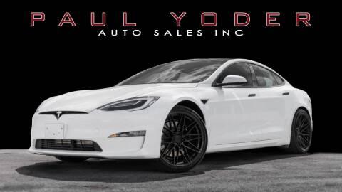 2021 Tesla Model S for sale at PAUL YODER AUTO SALES INC in Sarasota FL