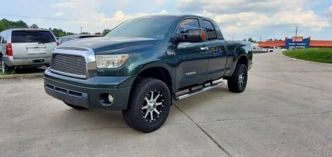 2007 Toyota Tundra for sale at WHOLESALE AUTO GROUP in Mobile AL