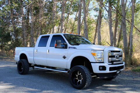 2013 Ford F-350 Super Duty for sale at Northwest Premier Auto Sales in West Richland WA
