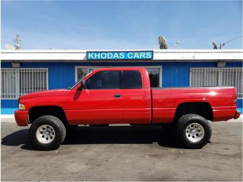 2001 Dodge Ram Pickup 1500 for sale at Khodas Cars in Gilroy CA