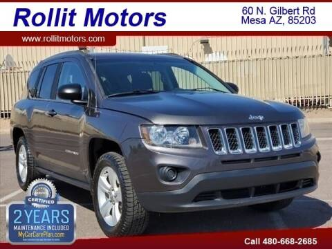 2014 Jeep Compass for sale at Rollit Motors in Mesa AZ
