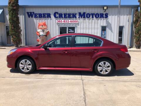 2012 Subaru Legacy for sale at Weber Creek Motors in Corpus Christi TX