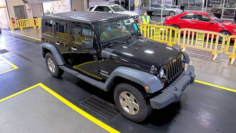 2011 Jeep Wrangler Unlimited for sale at DPG Enterprize in Catskill NY