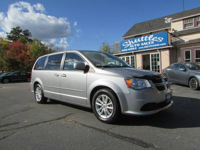 2016 Dodge Grand Caravan for sale at Shuttles Auto Sales LLC in Hooksett NH