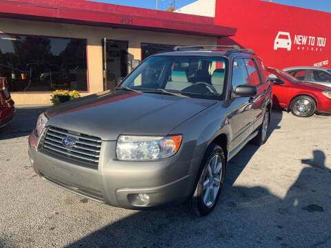 2006 Subaru Forester for sale at New To You Motors in Tulsa OK