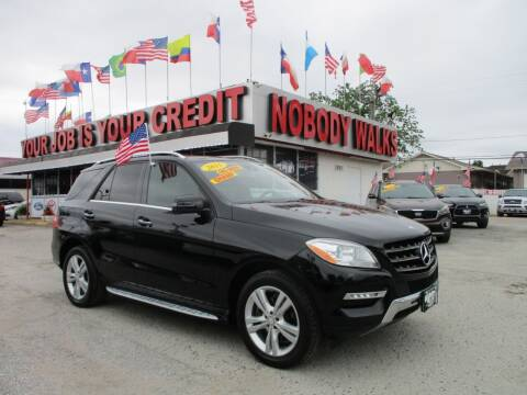 2015 Mercedes-Benz M-Class for sale at Giant Auto Mart 2 in Houston TX