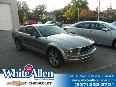 2008 Ford Mustang for sale at WHITE-ALLEN CHEVROLET in Dayton OH