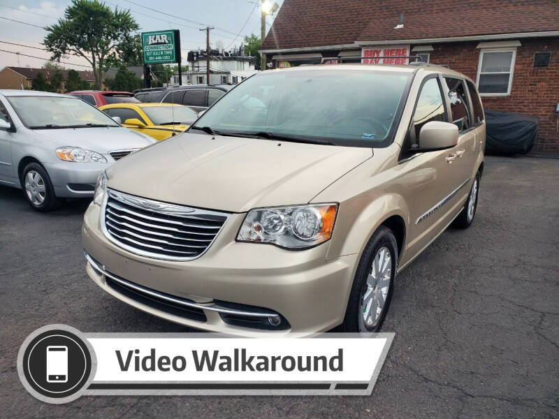 2013 Chrysler Town and Country for sale at Kar Connection in Little Ferry NJ