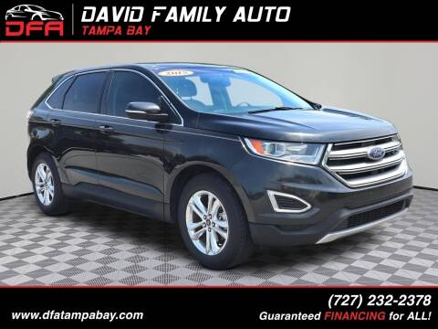 2015 Ford Edge for sale at David Family Auto in New Port Richey FL