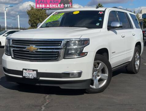 2015 Chevrolet Tahoe for sale at LUGO AUTO GROUP in Sacramento CA