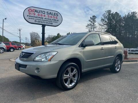 2006 Lexus RX 400h for sale at CVC AUTO SALES in Durham NC
