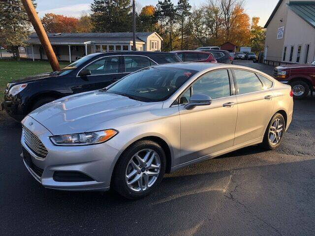 2013 Ford Fusion for sale at BATTENKILL MOTORS in Greenwich NY