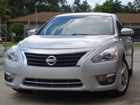 2015 Nissan Altima for sale at Deal Maker of Gainesville in Gainesville FL