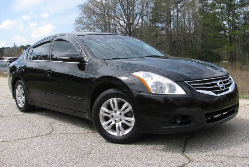 2011 Nissan Altima for sale at Warner's Auto Sales in Greenwood SC